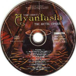 Tobias Sammet's Avantasia: The Metal Opera (CD) - Bild 4