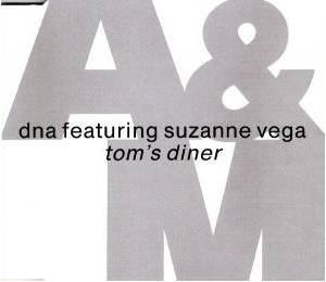 DNA Feat. Suzanne Vega: Tom's Diner - Cover