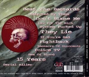 The Exploited: Beat The Bastards (CD) - Bild 2