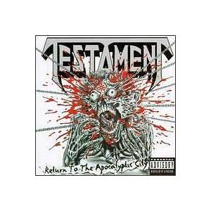 Testament: Return To The Apocalyptic City - Cover