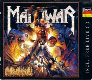 Manowar: Hell On Stage Live (3-CD) - Bild 1