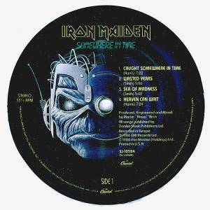 Iron Maiden: Somewhere In Time (LP) - Bild 3