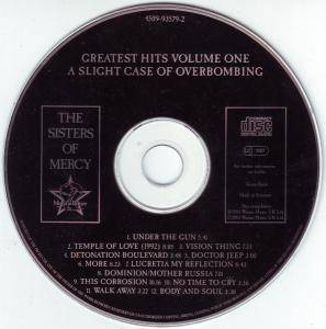 The Sisters Of Mercy: A Slight Case Of Overbombing: Greatest Hits Volume One (CD) - Bild 3