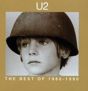 U2: Best Of 1980-1990, The - Cover