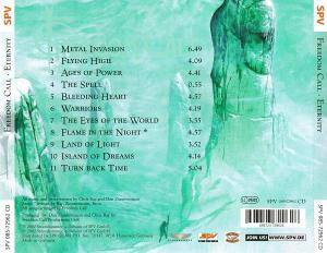 Freedom Call: Eternity (CD) - Bild 2
