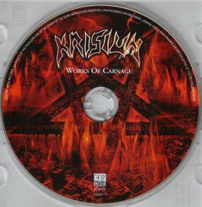 Krisiun: Works Of Carnage (CD) - Bild 3