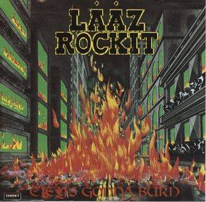Cover - Lääz Rockit: City's Gonna Burn