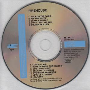 Firehouse: Firehouse (CD) - Bild 4