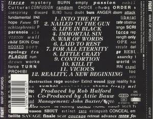 Fight: War Of Words (CD) - Bild 3