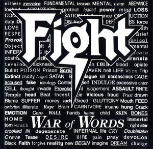 Fight: War Of Words - Cover