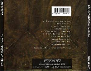 Fates Warning: Inside Out (CD) - Bild 2