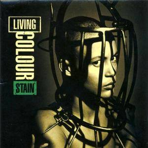 Living Colour: Stain - Cover