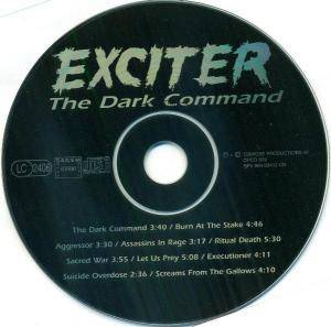 Exciter: The Dark Command (CD) - Bild 3