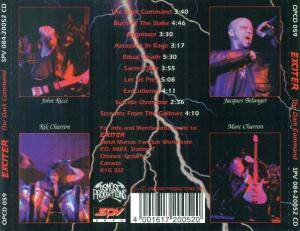 Exciter: The Dark Command (CD) - Bild 4