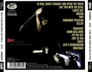 Entombed: To Ride, Shoot Straight And Speak The Truth! (CD) - Bild 2
