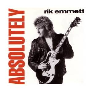 Rik Emmett: Absolutely - Cover