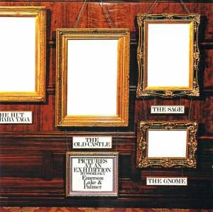 Emerson, Lake & Palmer: Pictures At An Exhibition - Cover