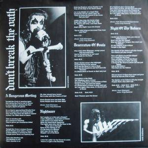 Mercyful Fate: Don't Break The Oath (LP) - Bild 3