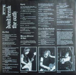 Mercyful Fate: Don't Break The Oath (LP) - Bild 4