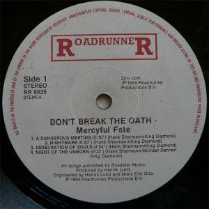 Mercyful Fate: Don't Break The Oath (LP) - Bild 5