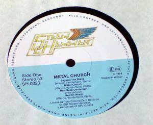 Metal Church: Metal Church (LP) - Bild 2