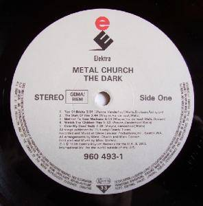Metal Church: The Dark (LP) - Bild 2
