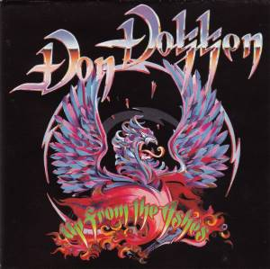 Don Dokken: Up From The Ashes - Cover