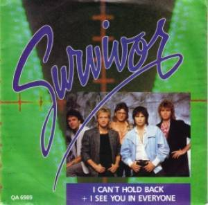 Survivor: I Can't Hold Back - Cover