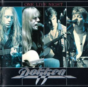 Cover - Dokken: One Live Night