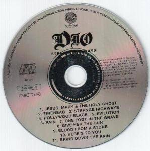 Dio: Strange Highways (CD) - Bild 3