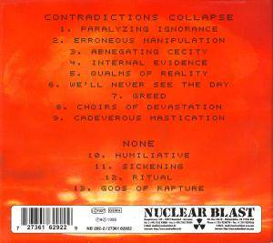 Meshuggah: Contradictions Collapse & None (CD) - Bild 2