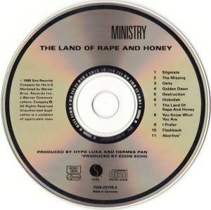 Ministry: The Land Of Rape And Honey (CD) - Bild 8