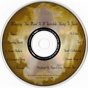 Ministry: The Mind Is A Terrible Thing To Taste (CD) - Bild 3