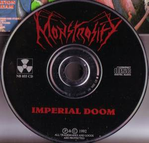 Monstrosity: Imperial Doom (CD) - Bild 3