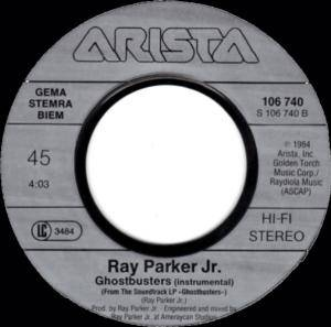 "Ray Parker Jr.: Ghostbusters (7"") - Bild 4"