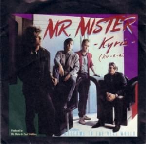 Cover - Mr. Mister: Kyrie