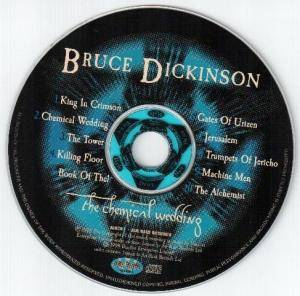 Bruce Dickinson: The Chemical Wedding (CD) - Bild 3