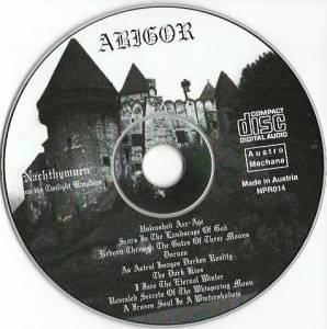 Abigor: Nachthymnen (From The Twilight Kingdom) (CD) - Bild 3