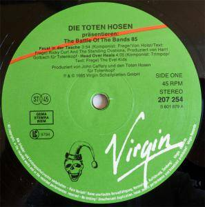 "Die Toten Hosen: The Battle Of The Bands 85 (12"") - Bild 3"