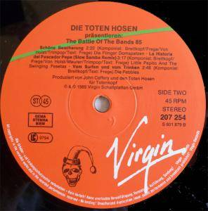 "Die Toten Hosen: The Battle Of The Bands 85 (12"") - Bild 4"
