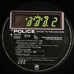 The Police: Ghost In The Machine (LP) - Bild 3