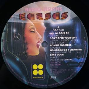 Kansas: Audio-Visions (LP) - Bild 4
