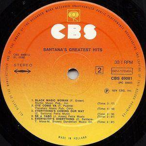 Santana: Santana's Greatest Hits (LP) - Bild 6