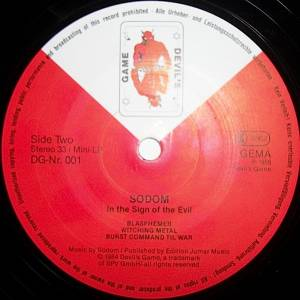 "Sodom: In The Sign Of Evil (12"") - Bild 4"
