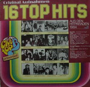 Cover - Propaganda: 16 Top Hits Juli / August 1984