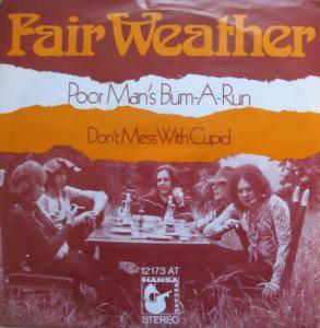 Cover - Fair Weather: Poor Man's Bum-A-Run
