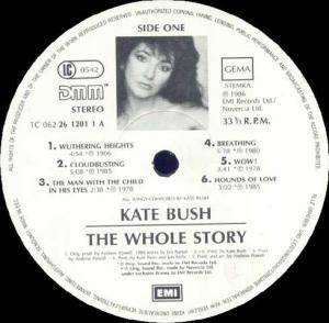 Kate Bush: The Whole Story (LP) - Bild 3