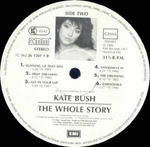 Kate Bush: The Whole Story (LP) - Bild 4
