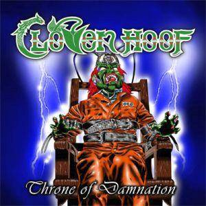 Cover - Cloven Hoof: Throne Of Damnation
