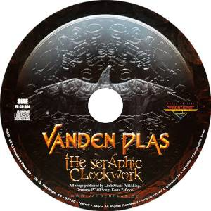 Seraphic Clockwork [Digipak] by VANDEN PLAS (CD, Jun-2010 ...